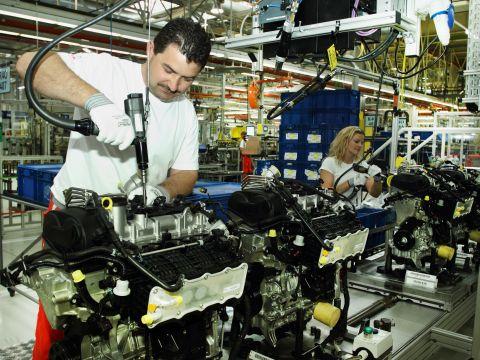 Új Otto-motorokat gyártanak az Audi győri üzemében (fotó: Audi)