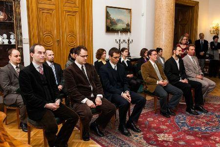 Akadémiai Ifjúsági Díjak átadása, 2013 (fotó: MTA)