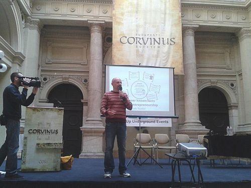 André Haddad (prezi.com) előadása a Startup Underground 2013 konferencián