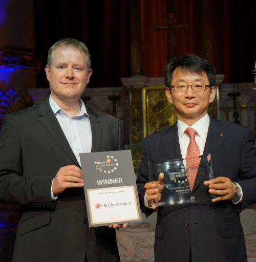 Az LG Optimus G Pro a legjobb LTE készülék // Andy Sutton - EE és Changhee Han - LG Benelux
