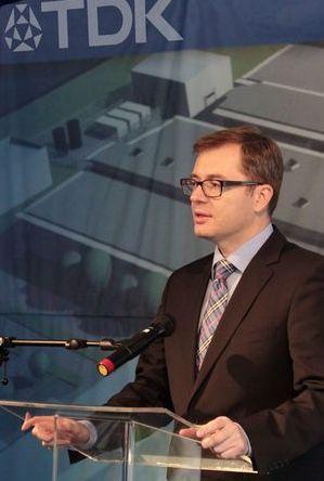 Takács Balázs, az EPCOS Kft. ügyvezető igazgatója
