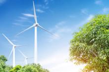 Zöld energia - megújuló energiaforrás - szélenergia