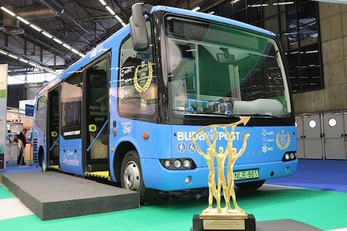 Evopro modulo JEC innovációs díj -- elektromos busz (fotó: evopro)