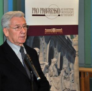 Pro Progressio Alapítvány -- Pakucs János (fotó: bme.hu)