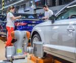 Audi robotok (fotó: Audi Hungaria Motor)
