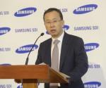 Százmilliárd forintos beruházással 600 új munkahelyet hoz létre a Samsung Gödön (fotó: MTI)